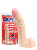 Raging Hard-Ons 7 inch Ballsy Cock - white