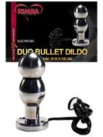 Electro Sex Dildo Two Balls