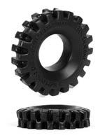 Burning Wheels 100% Silicone Cockring CK05 Black