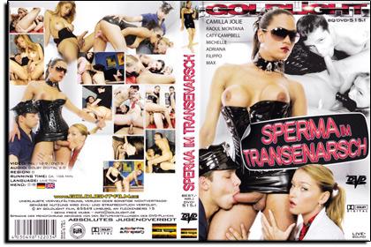 Goldlight Film - Sperma im Transenarsch