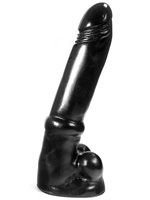 Dark Crystal Black Large Dildo DC03