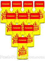 10 x RUSH ULTRA STRONG - PACK