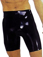 Shaun Sloane - Latex Bermuda Shorts